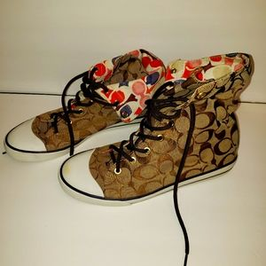 Coach High Top / low top shoes